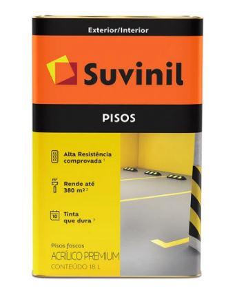 Suvinil Piso Latao Amarelo 53419745