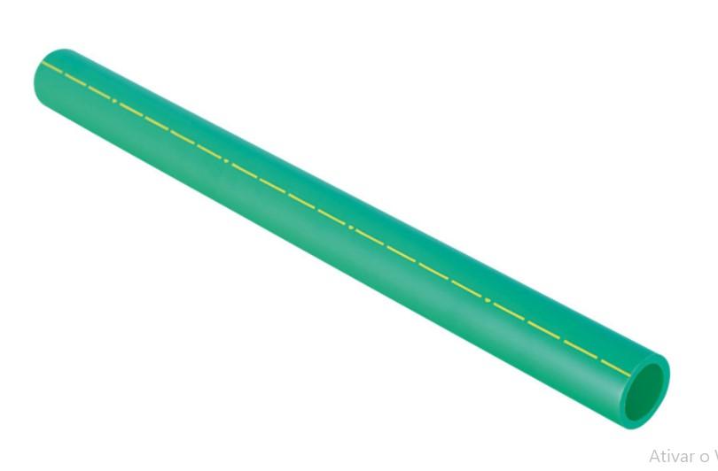Tubo Ppr Pn 20 40mm X 3m 17727