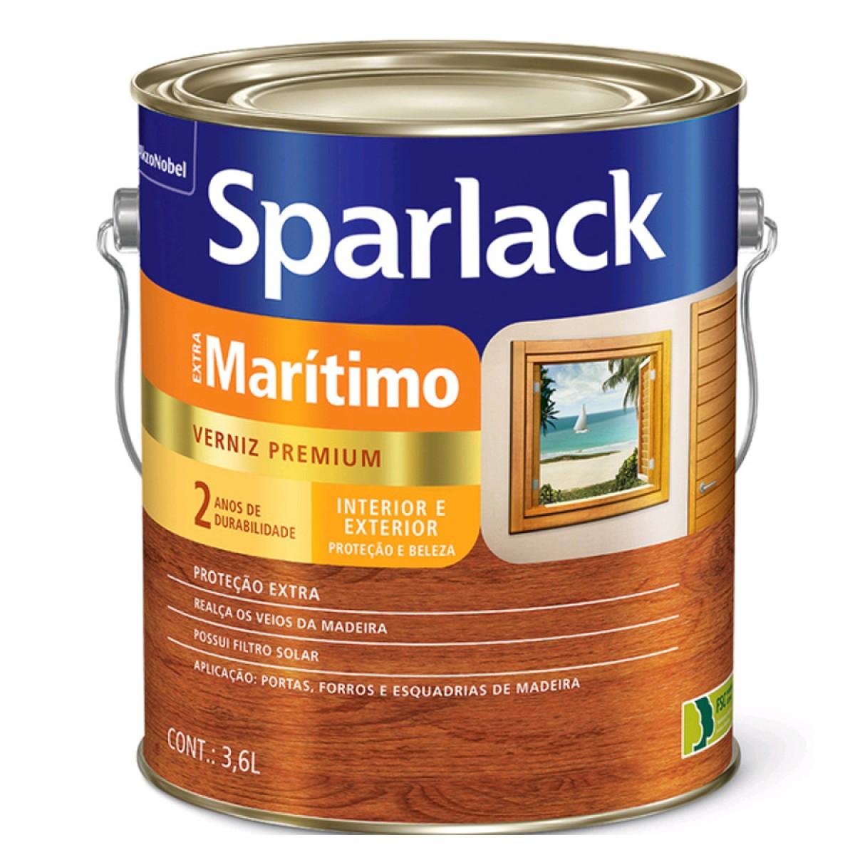 Verniz Sparlack Maritimo Fosco Galao 5203101