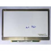Tela 13.3 Slim n133i6-l01 Conector Frontal prata usada