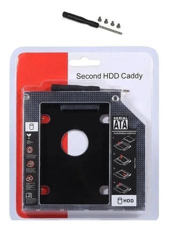 ADAPTADOR CADDY 9.5 PARA HD OU SSD 2,5