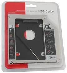 ADAPTADOR CADDY 9.5 PARA HD OU SSD 2,5 MACBOOK