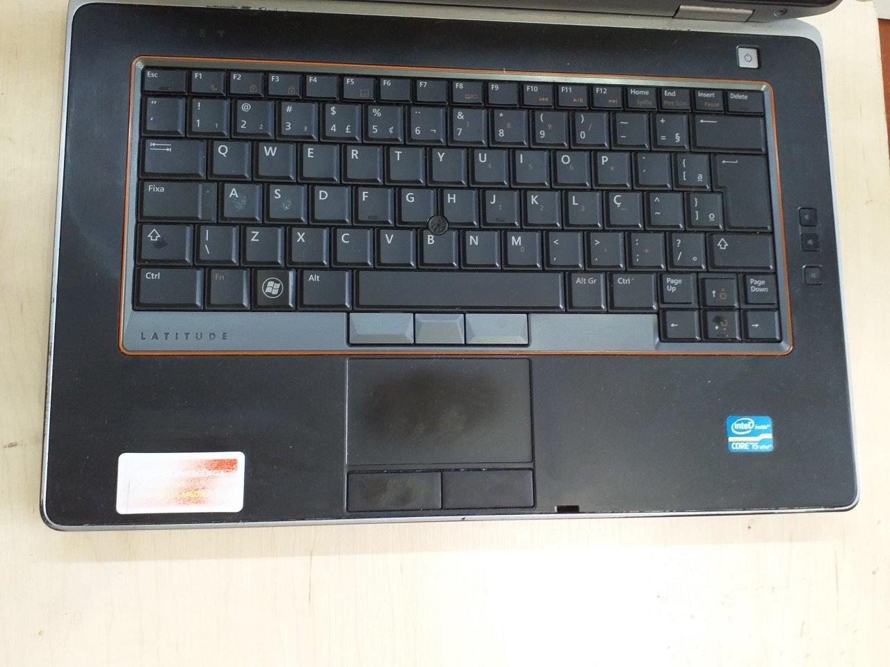 Notebook Dell Latitude E6420 i5 4GB 320GB HD