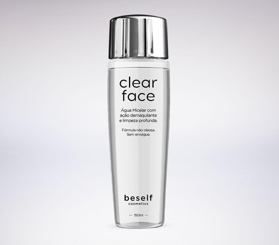 Clear Face - Água Micelar