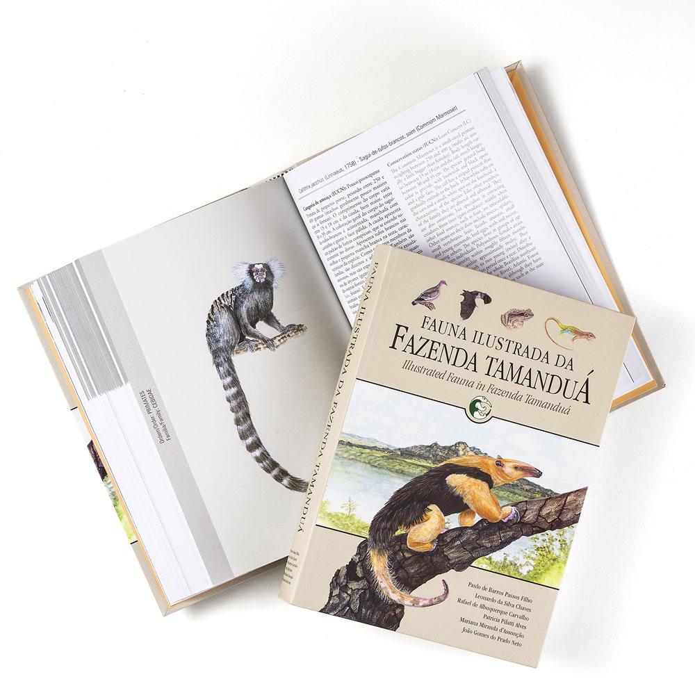 Livro Fauna Ilustrada da Fazenda Tamandua