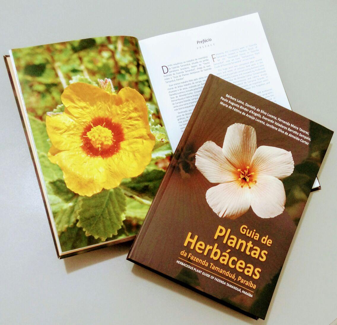 Livro Guia de Plantas Herbáceas da Fazenda Tamanduá