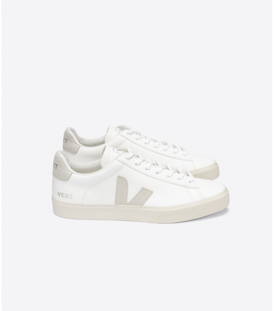 VERT CAMPO CHROMEFREE EXTRA WHITE NATURAL SUEDE