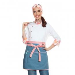 Giovana Madison Branca + Alice Jeans Claro