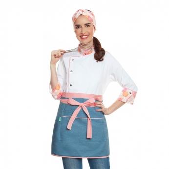 Conjunto Giovana Madison Branca + Alice Jeans Claro