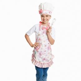 Avental Infantil Juju Bouquet