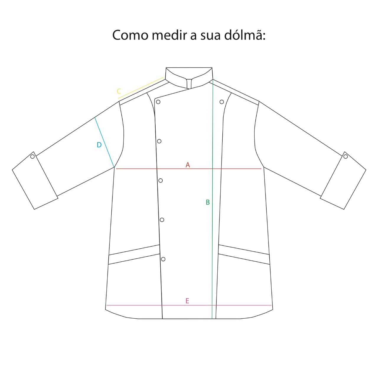 Conjunto Felipe Cobalt + Avental Leonardo