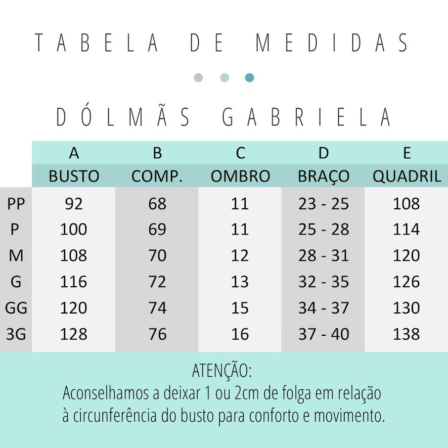Conjunto Gabriela Zâmbia Cinza + Avental Clara