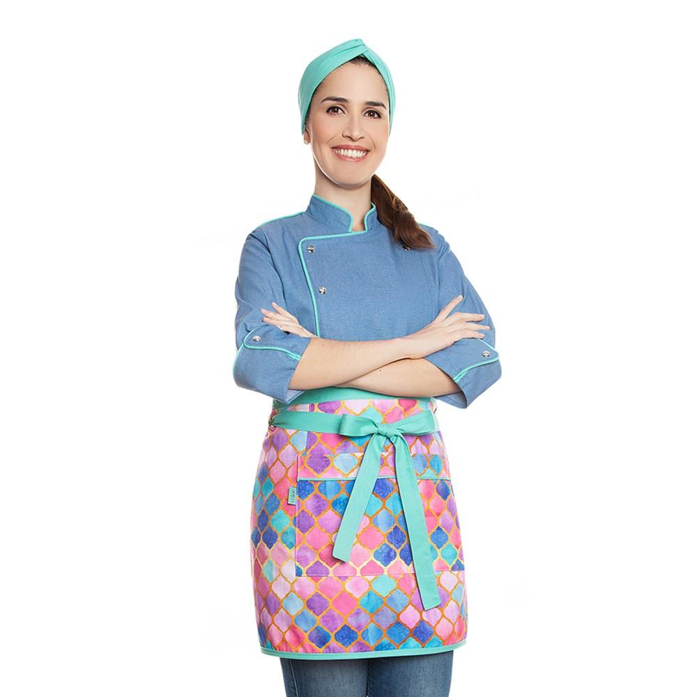 Conjunto Lorena Azul + Alice Marrakesh Tiffany