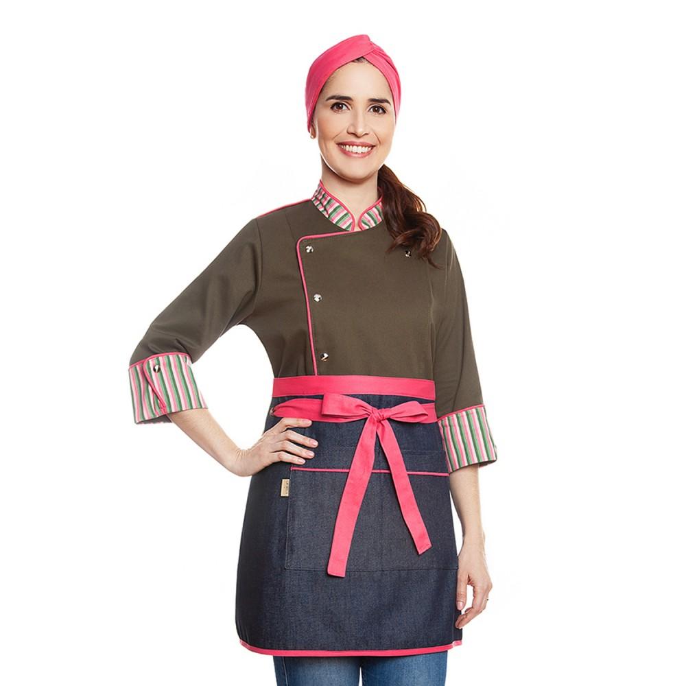 Conjunto Rebeca Dalian + Alice Jeans Pink