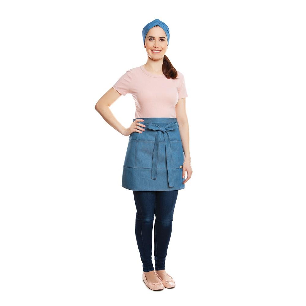 Conjunto Teresa Bege + Lara Jeans Claro