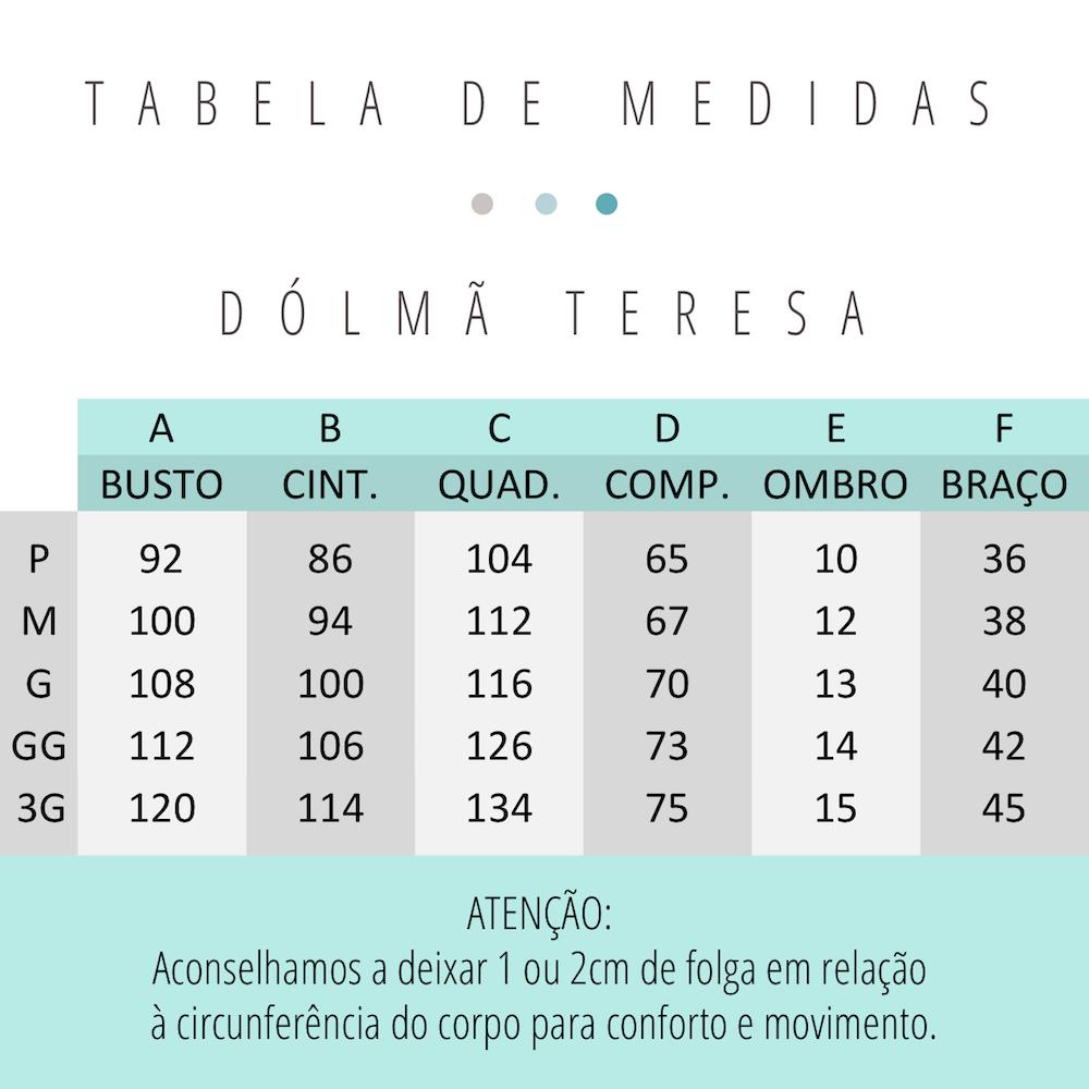 Conjunto Teresa Holanda + Clara Jeans com Menta