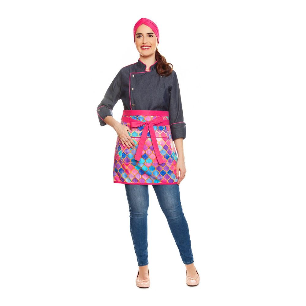 Conjunto Lorena Jeans Pink + Alice Marrakesh Pink