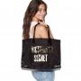 Bolsa Victoria's Secret Maxi Preta