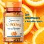 Vitamina C 500mg Puritan's Pride 100 Cápsulas