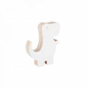 Adorno Acrilido Dinossauro II Branco