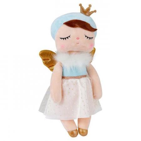 Boneca Angel Metoo Azul 33cm