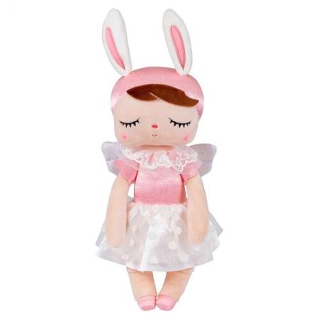 Boneca Angel Metoo Rosa 33cm