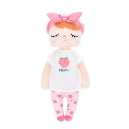 Boneca Angela Fruta Pessego 33cm