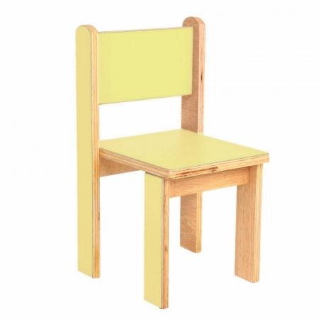 Cadeira Quero-Quero Amarelo Claro