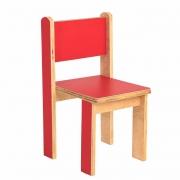 Cadeira Quero-Quero Vermelho Cardeal