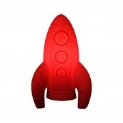 Luminária Foguete Vermelho