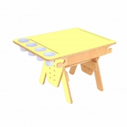 Mesa Quero-Quero Amarelo Claro