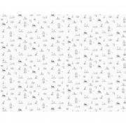 Papel de Parede Barquinhos H=2,50 Papel de Parede