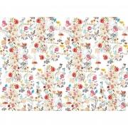 Papel de Parede Flower H=2,50 Branco Papel de Parede