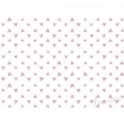 Papel de Parede Kurt H=3m Rosa Papel de Parede