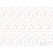 Papel de Parede Time H=3m Vermelho Papel de Parede