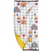 Toalha Canga Rainbow - 70X135cm