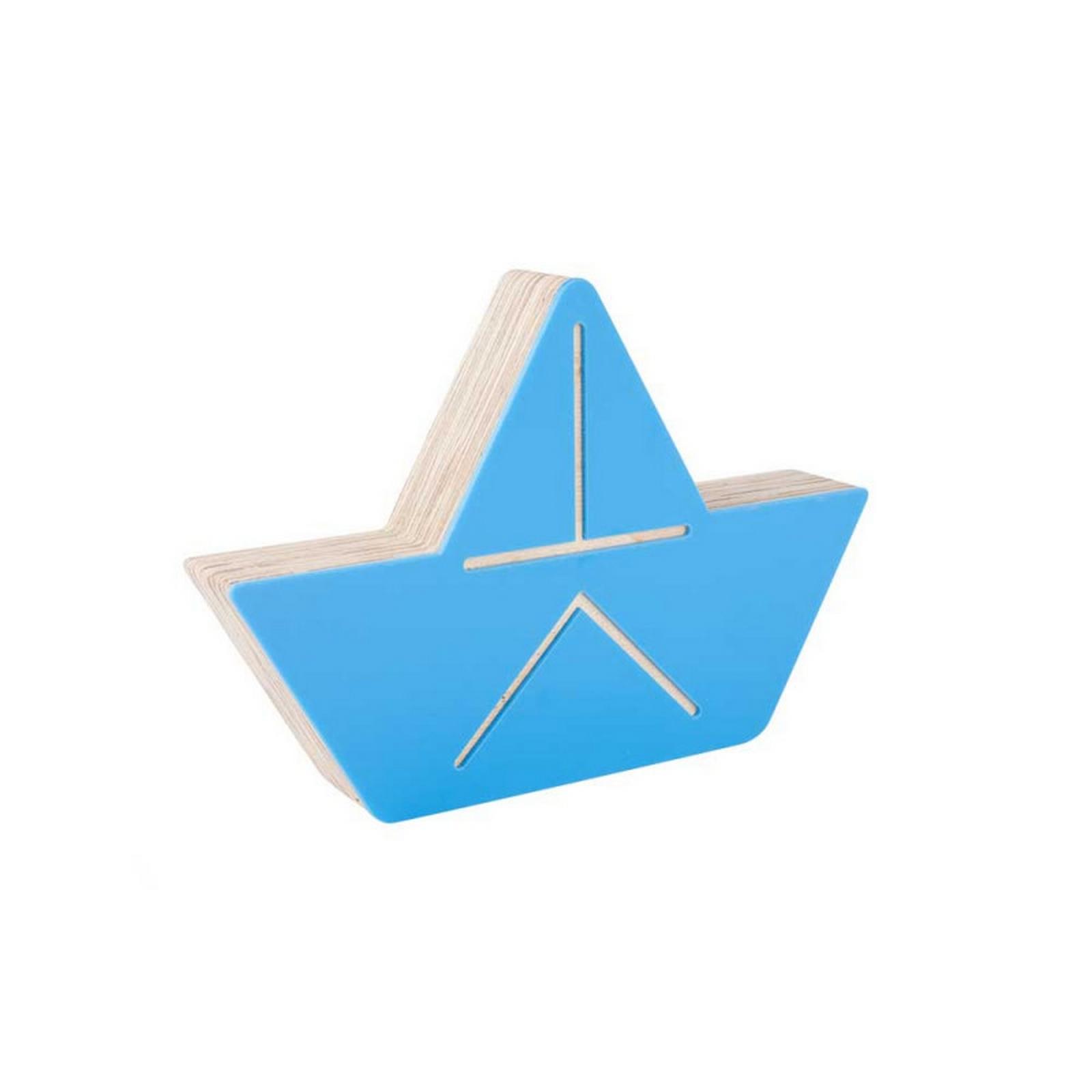 @Adorno Acrílico Barquinho Azul