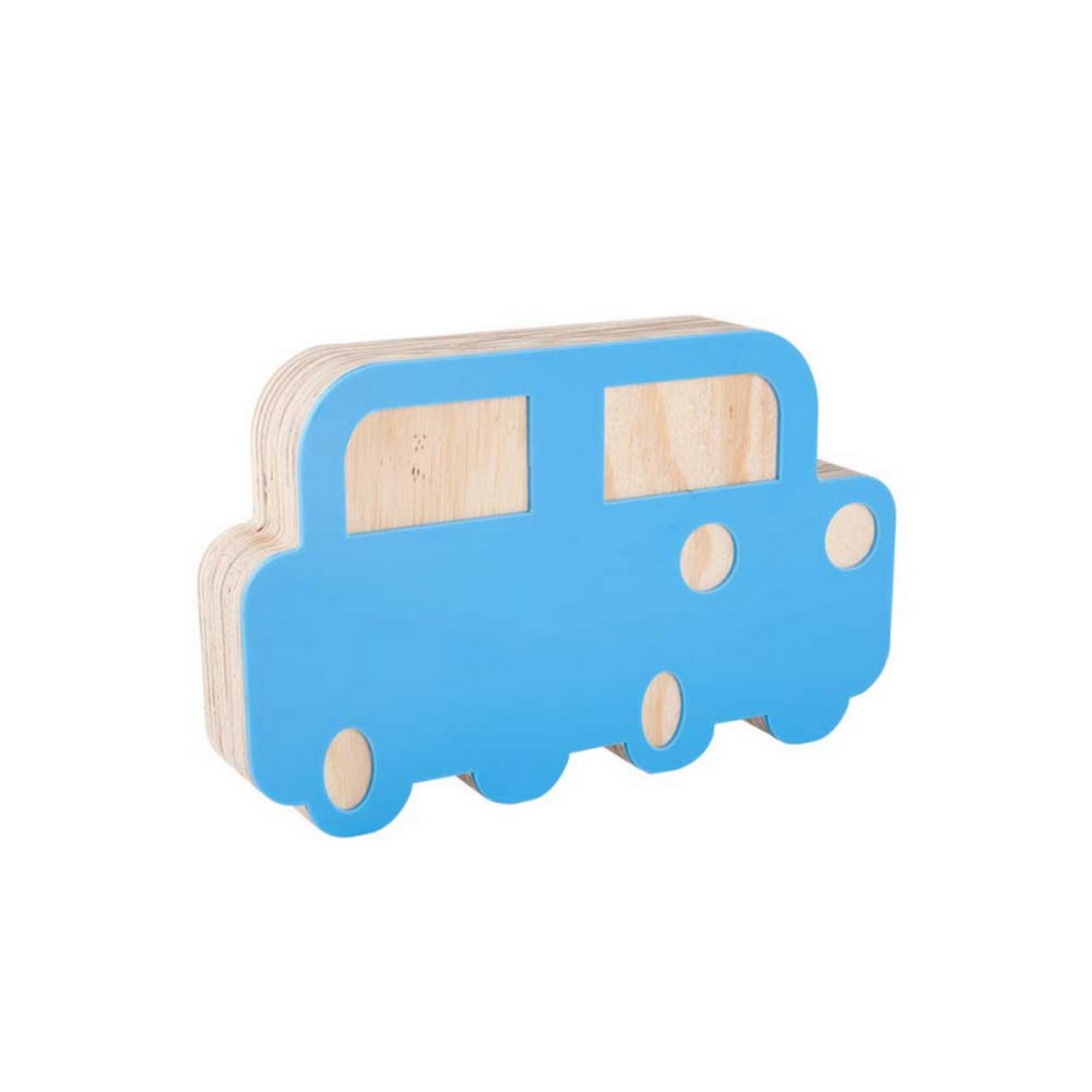 Adorno Acrílico Carro Azul