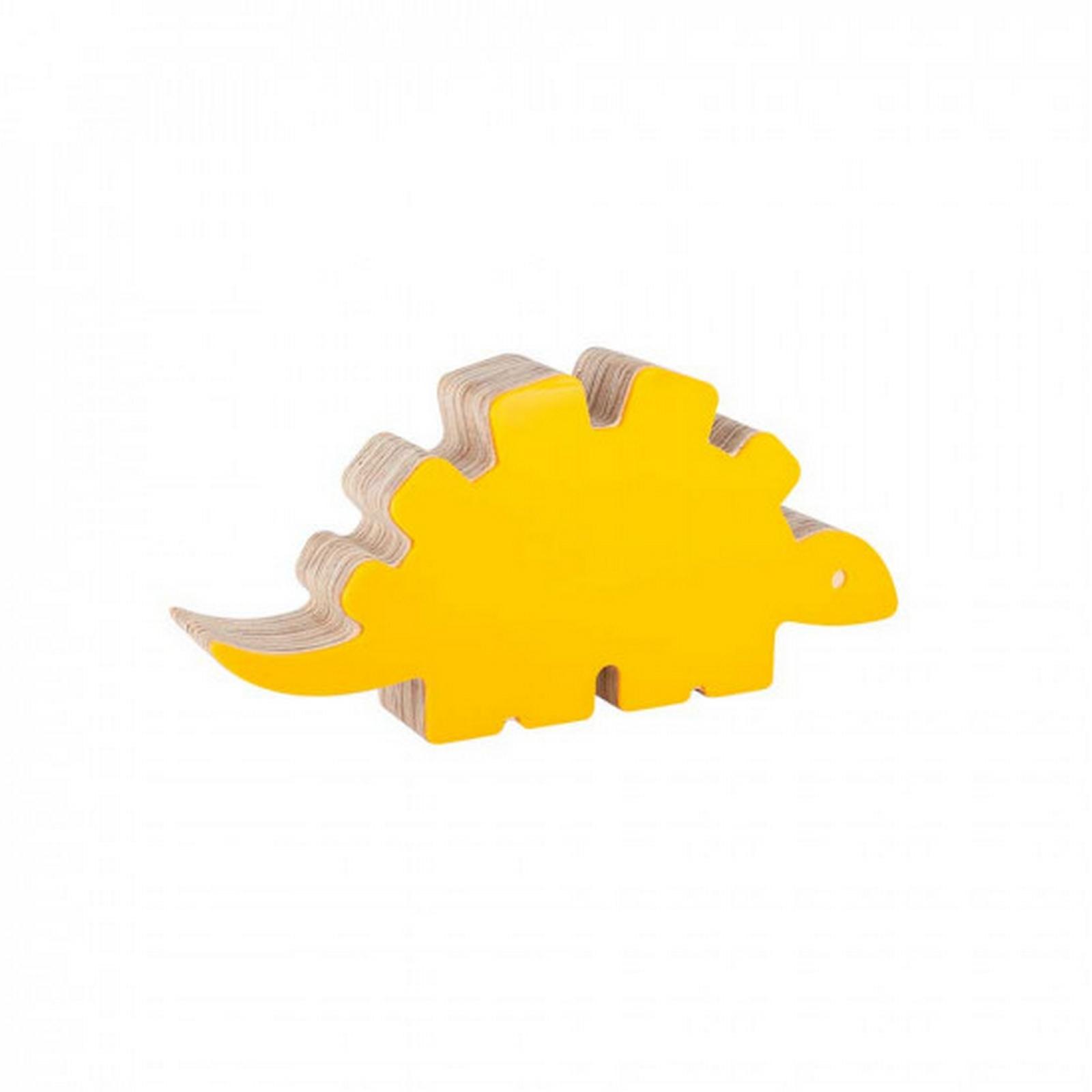 Adorno Acrilido Dinossauro I Amarelo