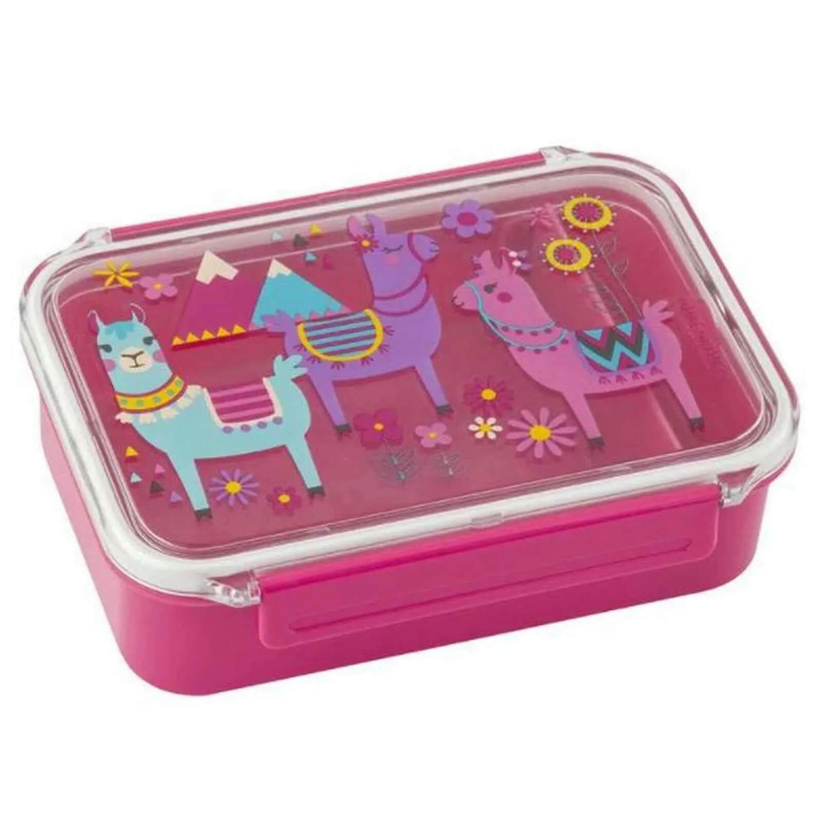 Bento Box com Divisoria Lhama