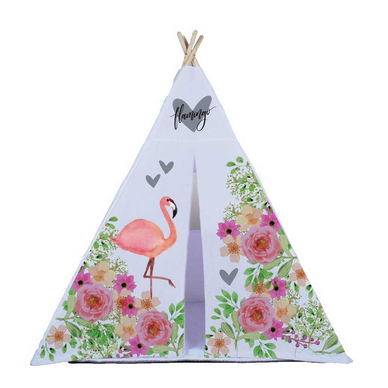 Cabana Estampada Flamingo
