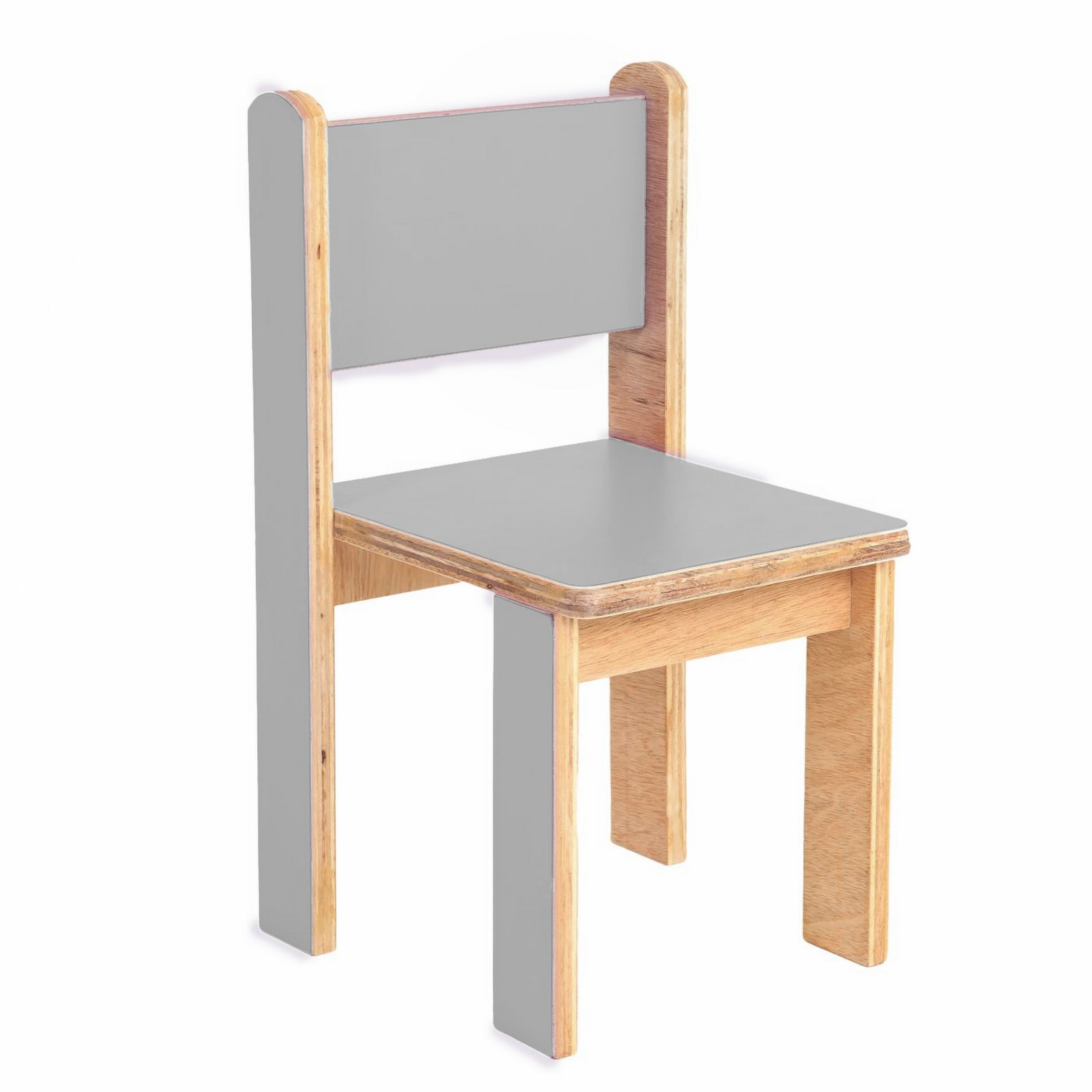 Cadeira Quero-Quero Cinza Claro