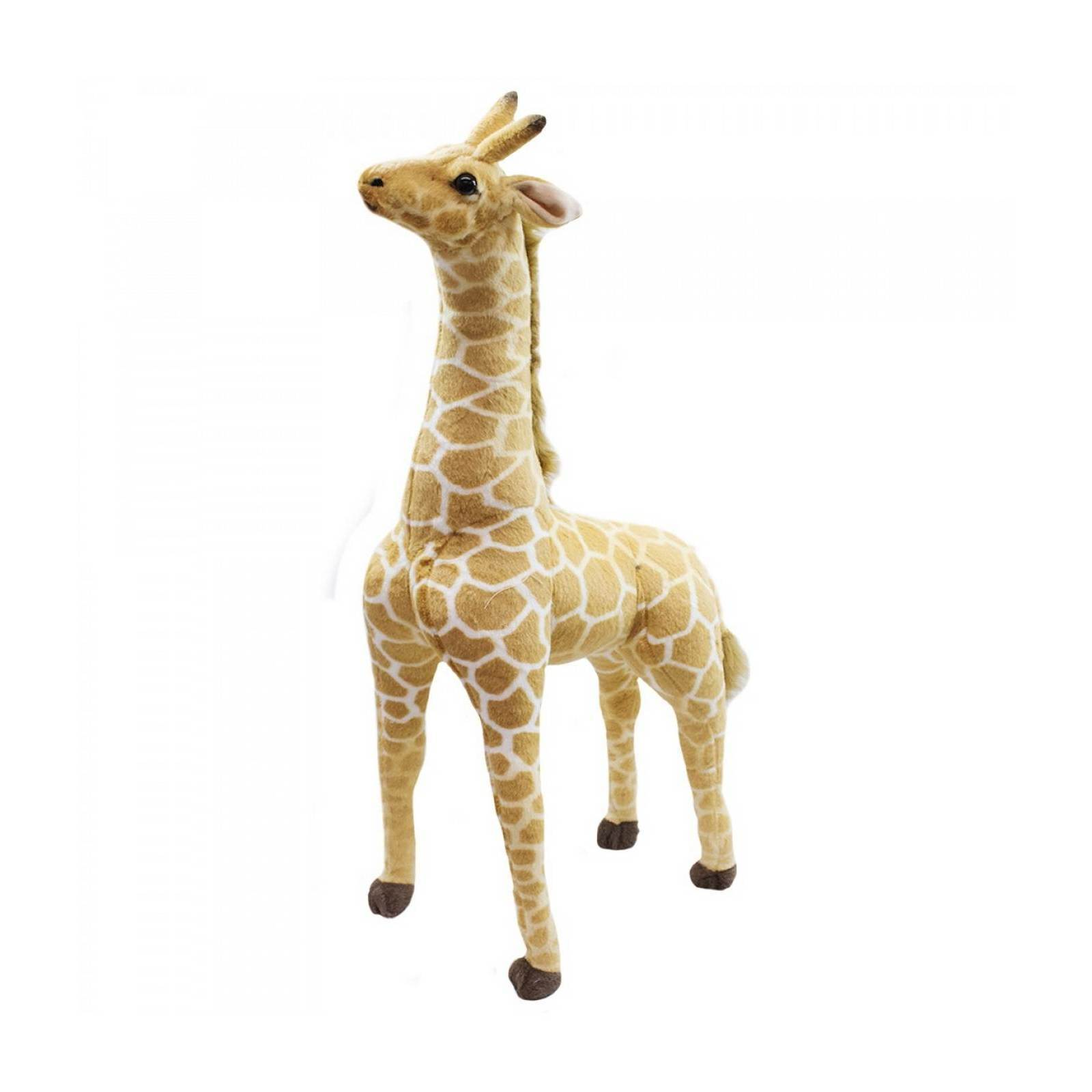 Girafa de Pelucia em Pe 90cm
