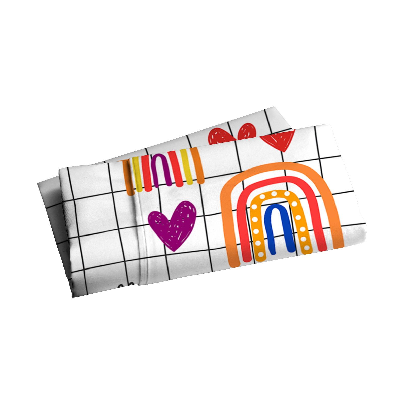 Lençol para Cobrir Junior Rainbow - Mini Cama