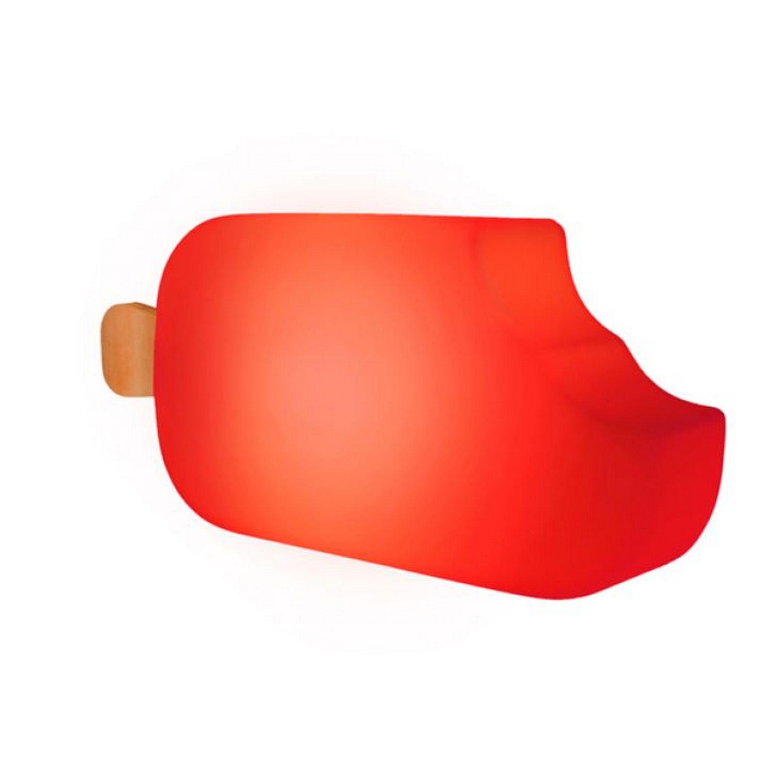 Luminária Picolé Vermelho