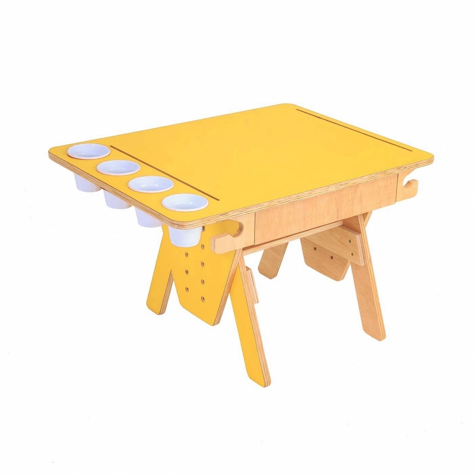 Mesa Quero-Quero Amarelo
