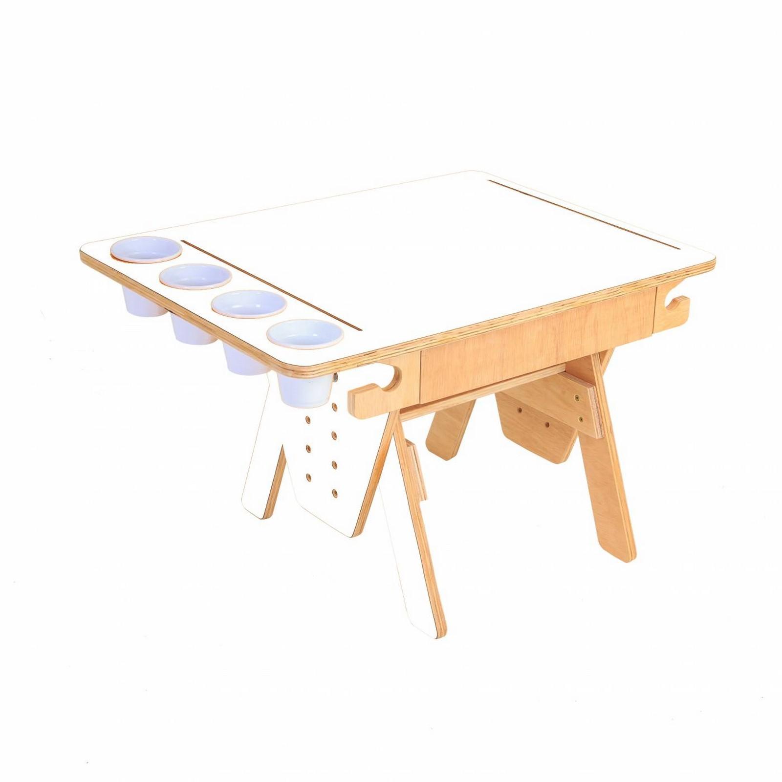 Mesa Quero-Quero Branco