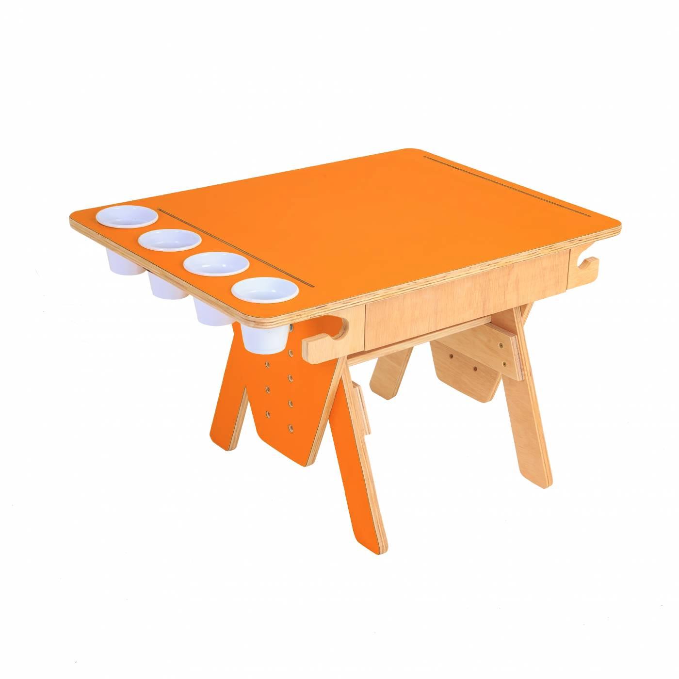 Mesa Quero-Quero Laranja