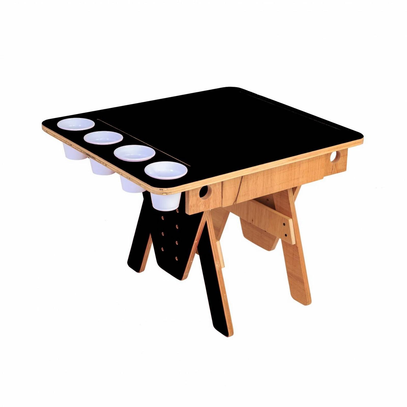 Mesa Quero-Quero Preto