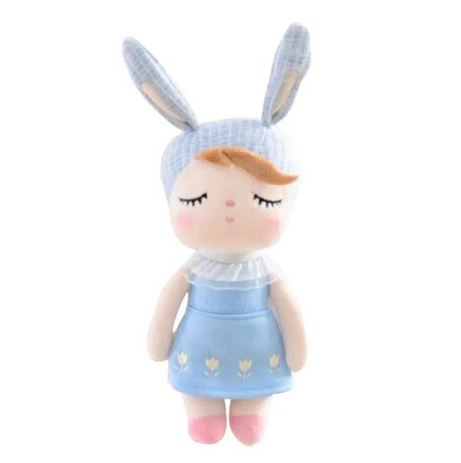 Mini Angela Classica Jardineira Azul
